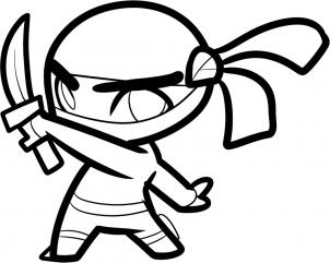 easy ninja coloring pages free free printable ninja coloring pages download free ninja easy pages coloring