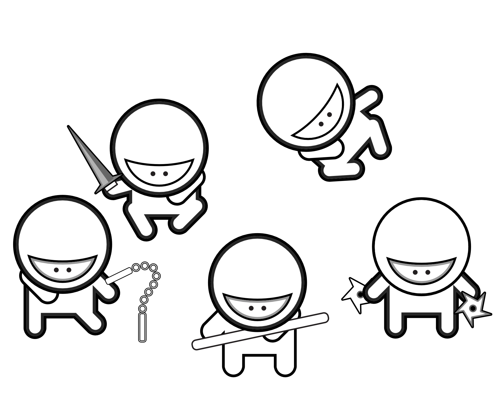 easy ninja coloring pages how to draw a ninja step by step figures people free easy coloring ninja pages