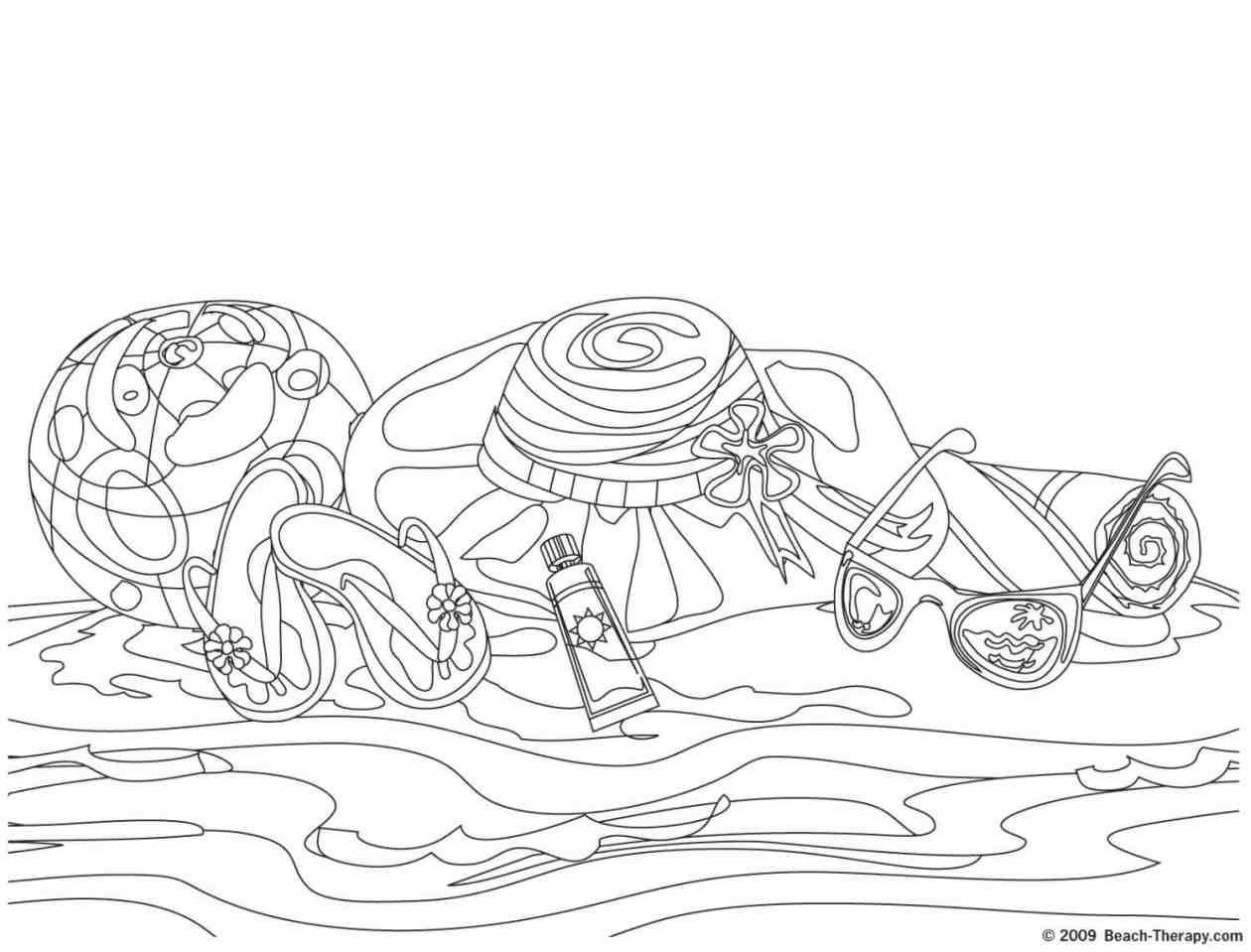 easy to draw beach scene beach coloring pages free printable outline pictures to beach scene draw easy