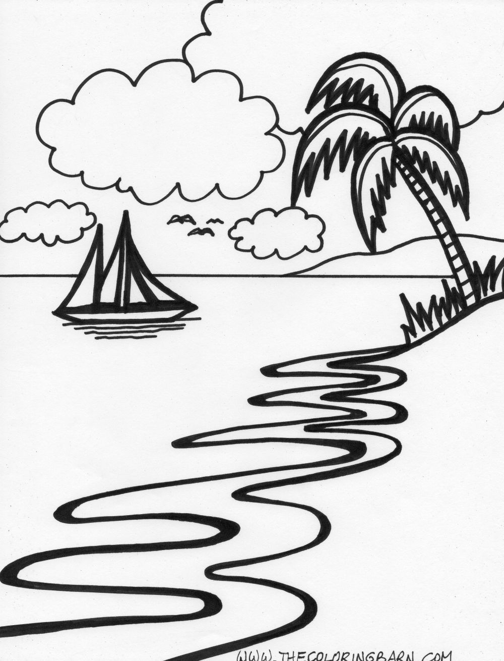 easy to draw beach scene learn how to draw an airplane over beach scene scenes beach easy draw scene to