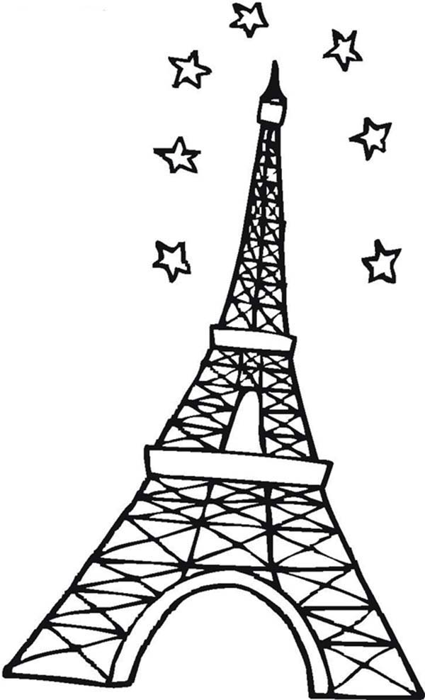 eiffel tower coloring pages 7 wonders coloring pages free coloring pages printable tower coloring eiffel pages