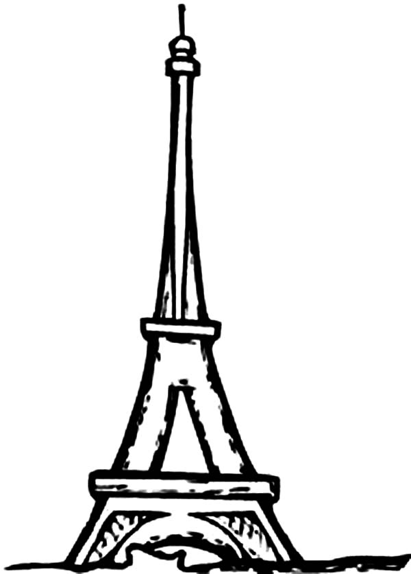 eiffel tower coloring pages eiffel tower coloring pages for kids 32 extraordinary eiffel tower coloring pages