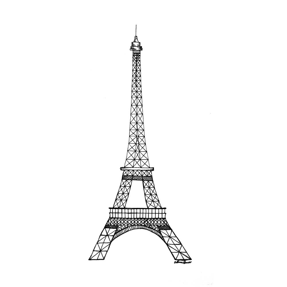 eiffel tower coloring pages eiffel tower stencil 3doodler sketch coloring page eiffel tower coloring pages