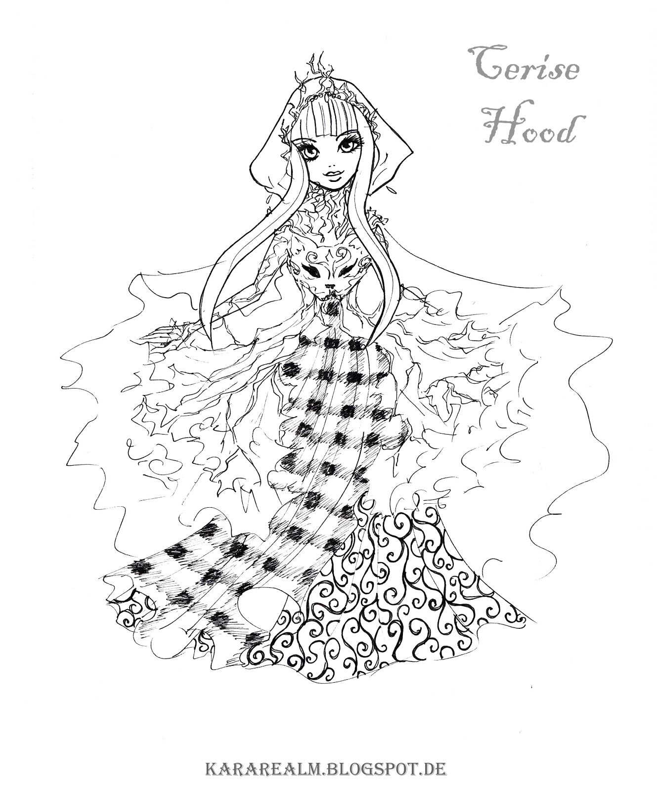 ever after high pictures kara realm ever after high coloring pages with images ever high pictures after