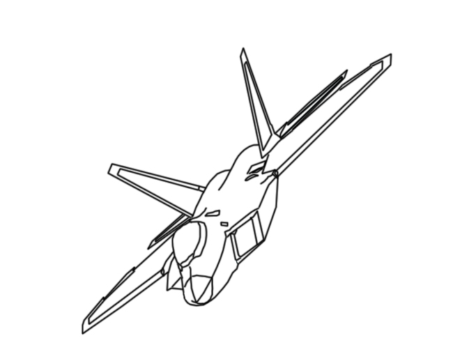 f 22 coloring page aircraft cartoons f coloring 22 page