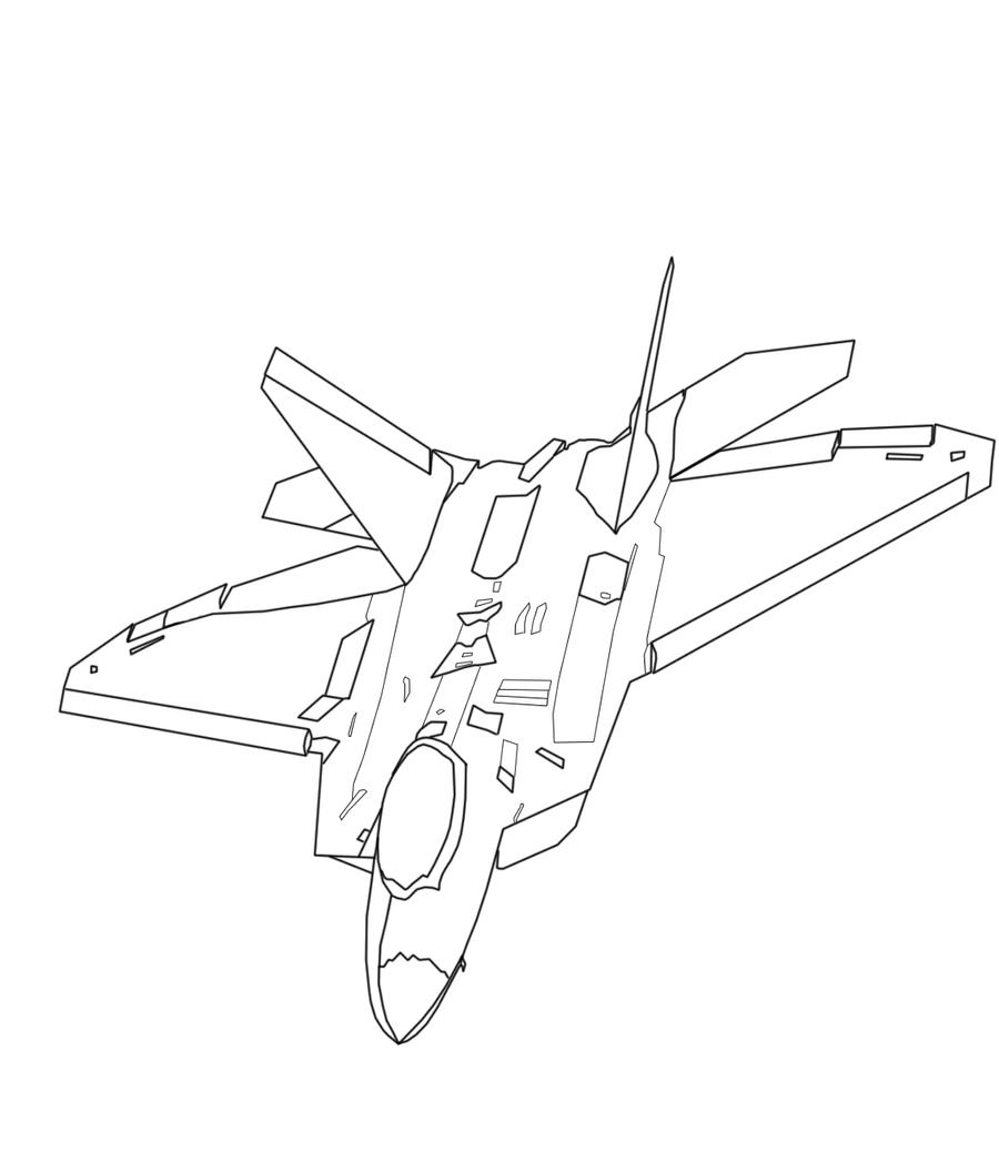 f 22 coloring page dvids images f 22 raptor coloring page image 2 of 3 22 coloring page f
