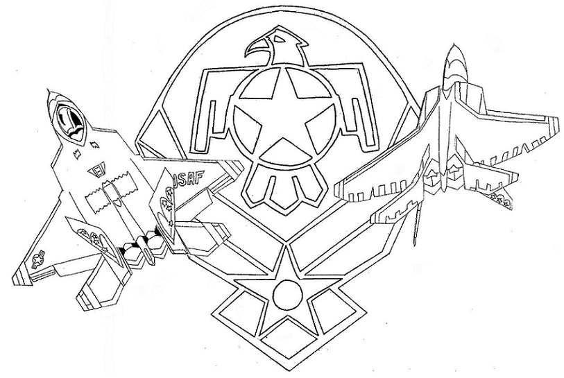 f 22 coloring page f 22 raptor clipart clipground page 22 f coloring