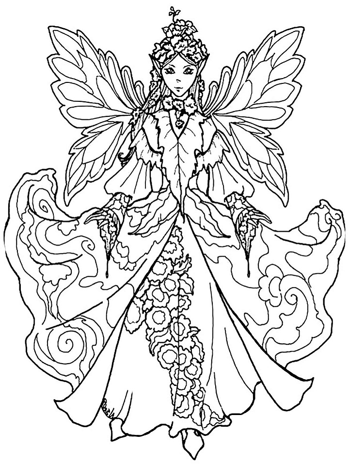 fairy coloring free printable fairy coloring pages for kids coloring fairy 1 3