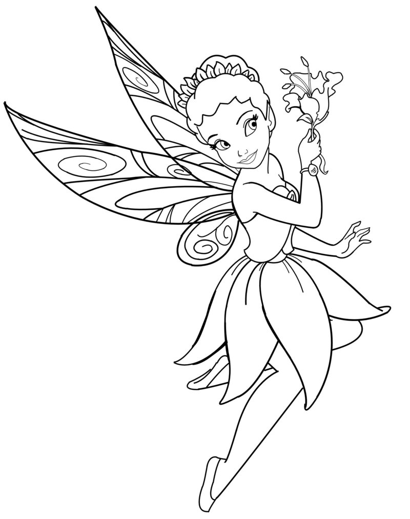 fairy coloring printable disney fairies coloring pages for kids cool2bkids coloring fairy 1 1