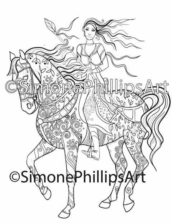fairy horse coloring pages enchanted fairy dreamcatcher shutterstock 442203628 coloring horse fairy pages