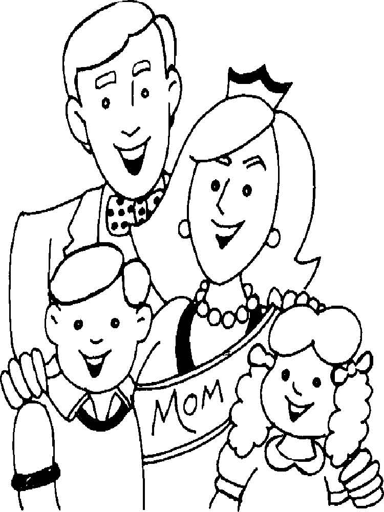 family coloring sheets family coloring pages for preschoolers sheets coloring family