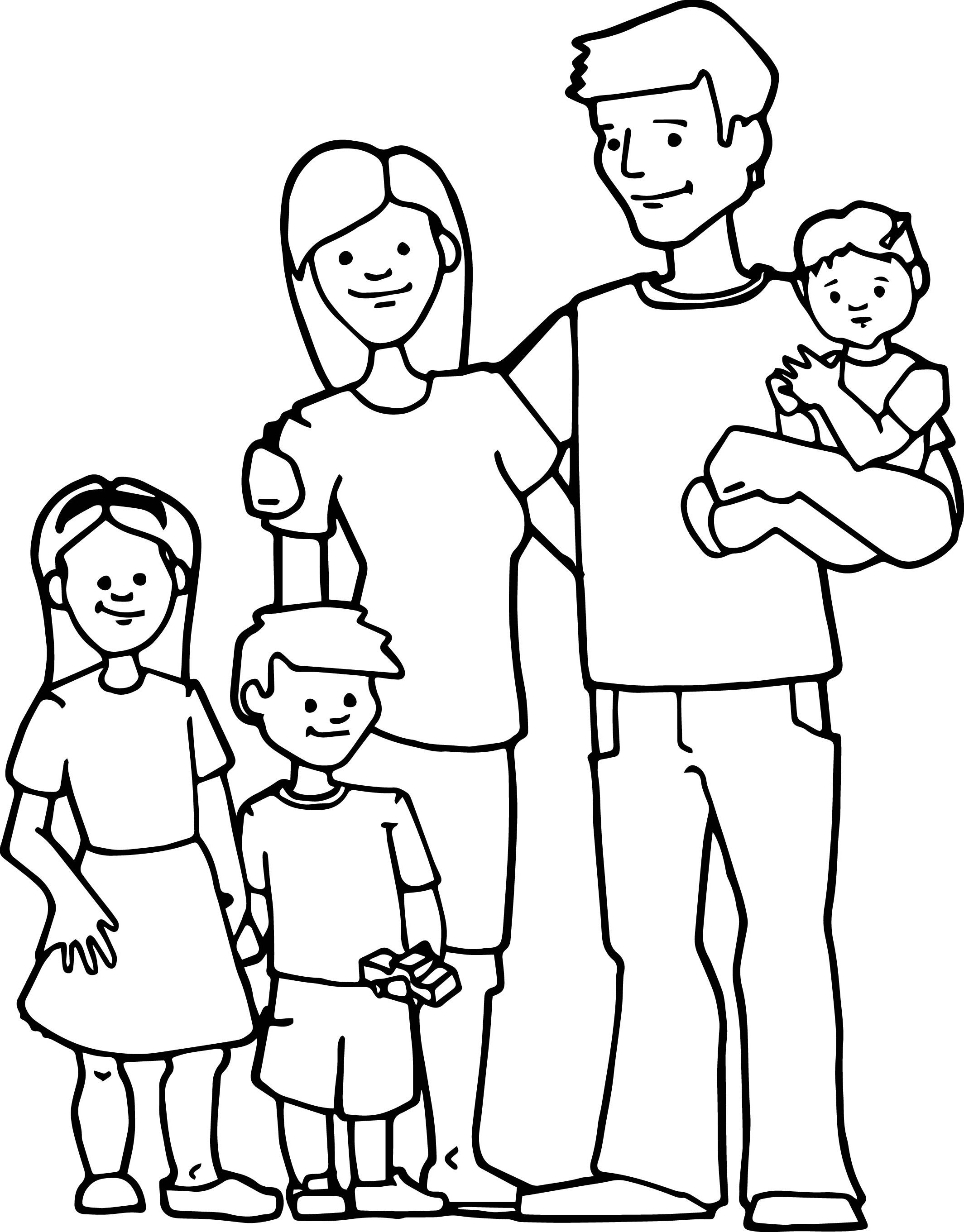 family coloring sheets get this free simple family coloring pages for children coloring sheets family