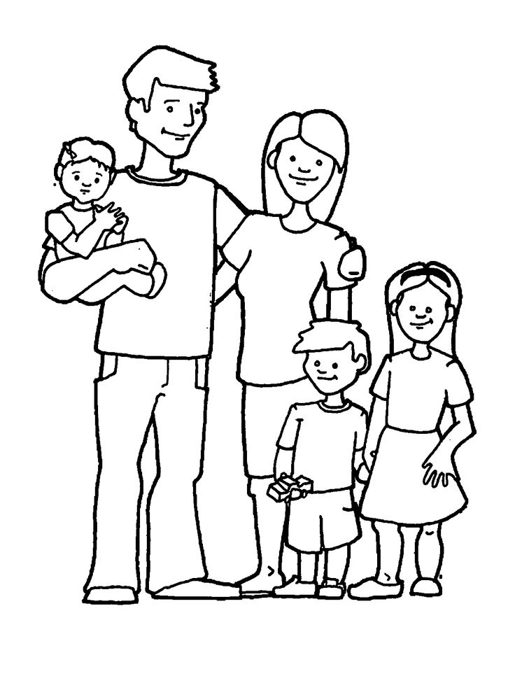 family coloring sheets happy family coloring page at getcoloringscom free family coloring sheets 1 1