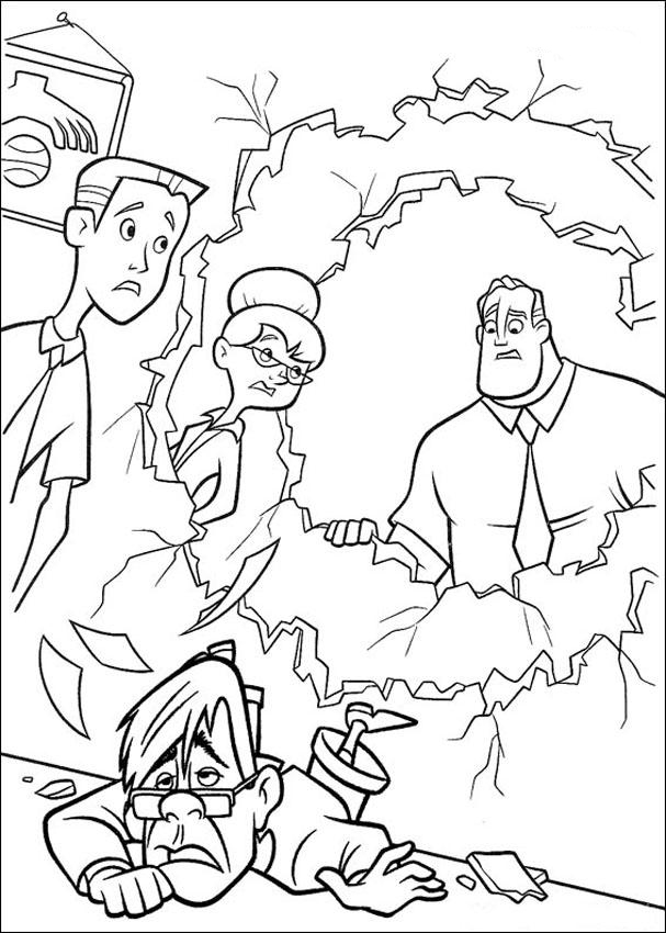 family incredibles 2 coloring pages incredibles 2 coloring pages getcoloringpagescom coloring family incredibles pages 2