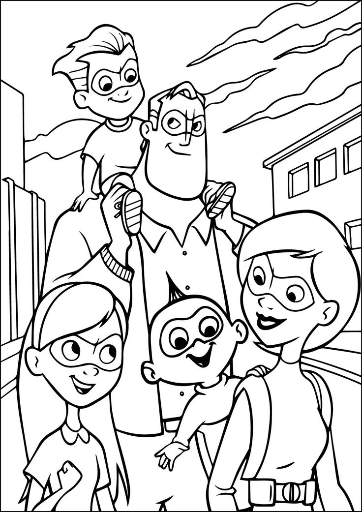 family incredibles 2 coloring pages incredibles 2 printable coloring pages incredibles2 family coloring 2 pages incredibles