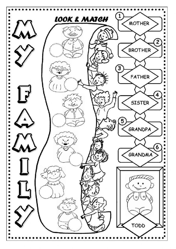 family members coloring worksheets 7 best the family esl english worksheets images on family members worksheets coloring