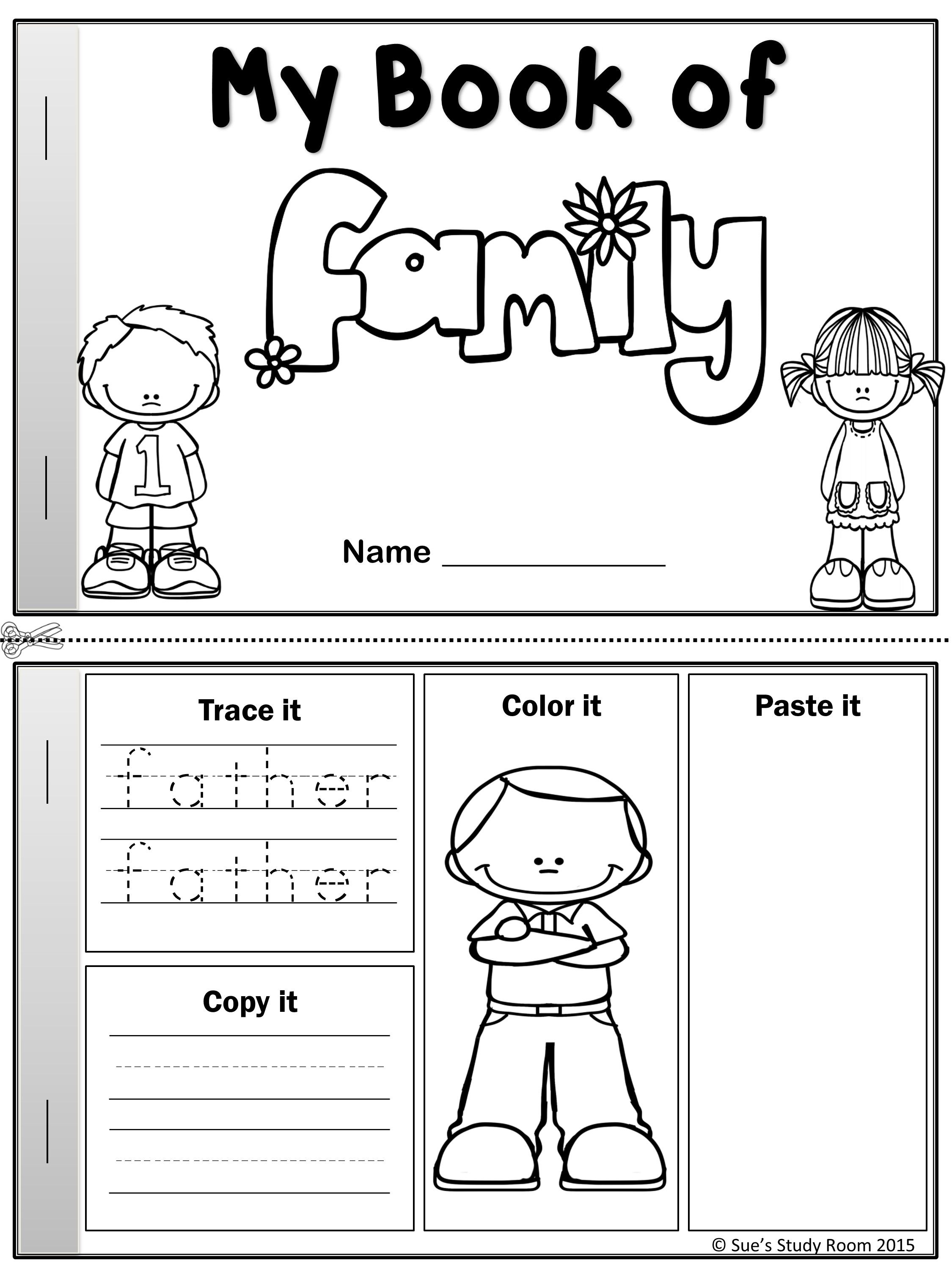 family members coloring worksheets family coloring pages getcoloringpagescom coloring members worksheets family