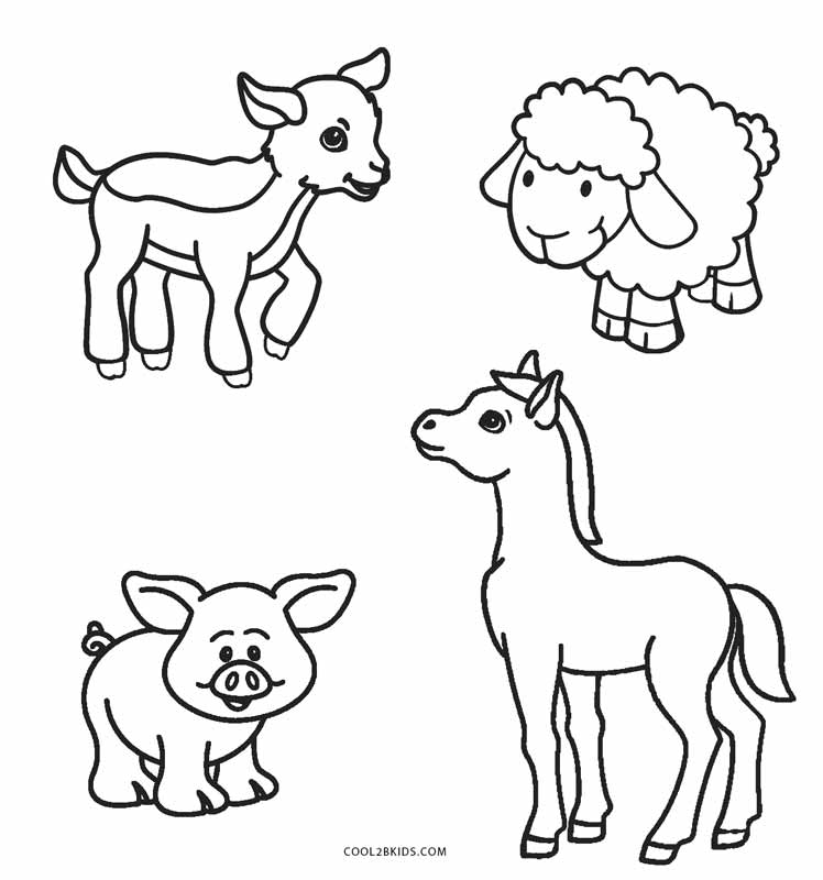 farm animals for coloring farm animal coloring pages to download and print for free coloring animals for farm