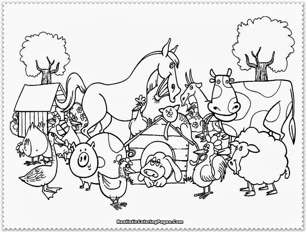 farm animals for coloring free printable farm animal coloring pages for kids animals farm coloring for