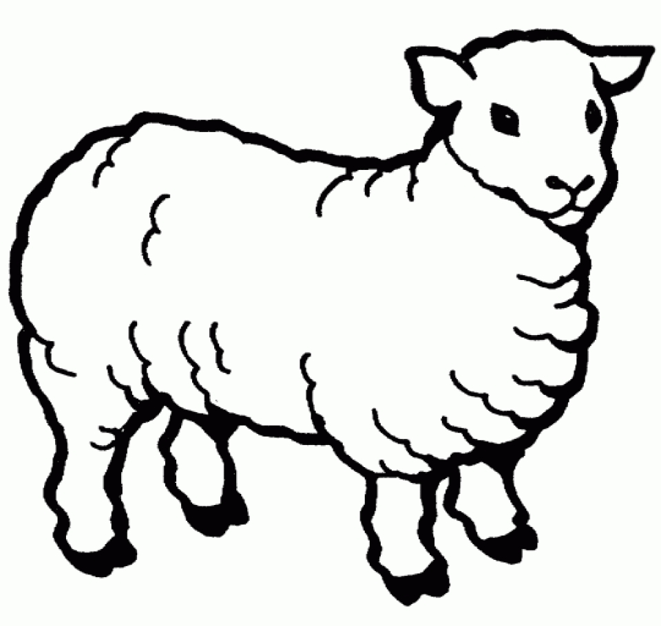 farm animals for coloring get this farm animal coloring pages for toddlers dl53x for animals farm coloring