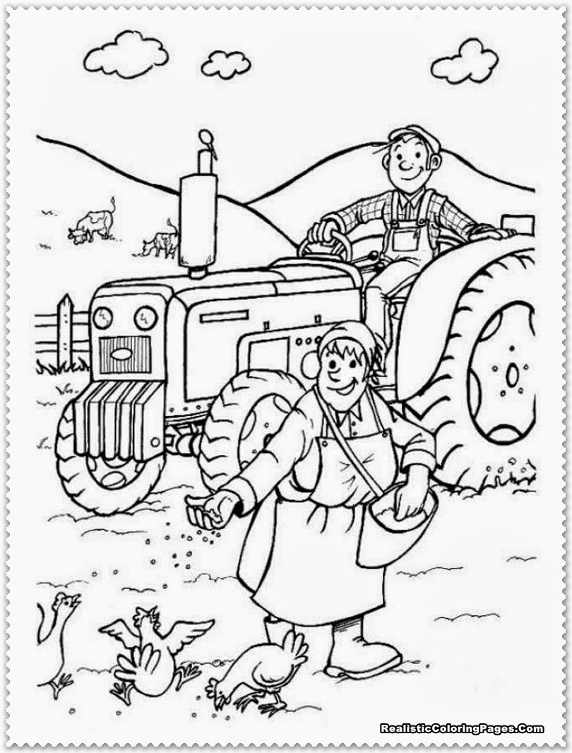 farm coloring pages preschool coloring pages of farm animals for preschoolers at pages farm preschool coloring