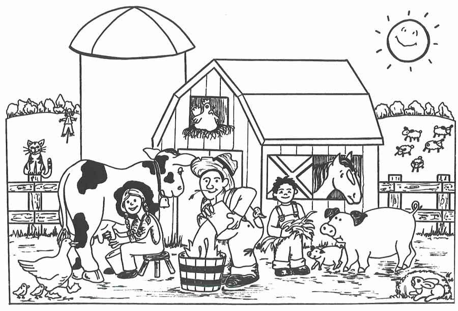 farm coloring pages preschool get this easy preschool printable of farm animal coloring farm preschool coloring pages