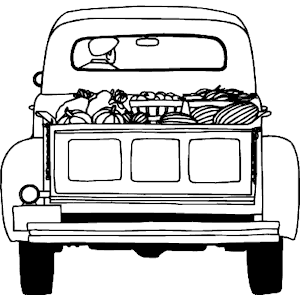 farm truck coloring pages free truckload of food svg file christmas red truck truck pages farm coloring