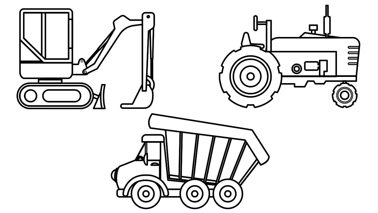 farm truck coloring pages small excavator dump truck and farm truck coloring pages farm coloring pages truck