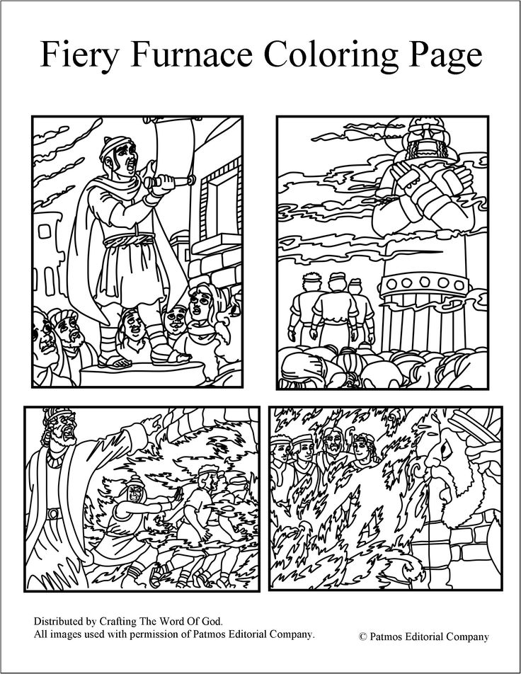 fiery furnace coloring page pinterest the worlds catalog of ideas coloring fiery furnace page