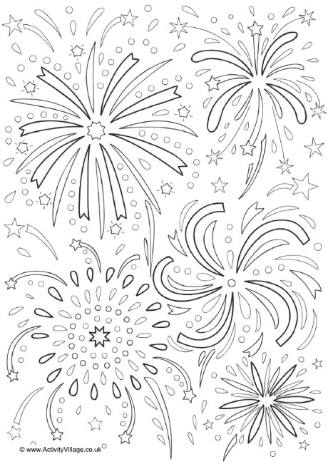 fireworks coloring page fireworks colouring page 2 coloring fireworks page