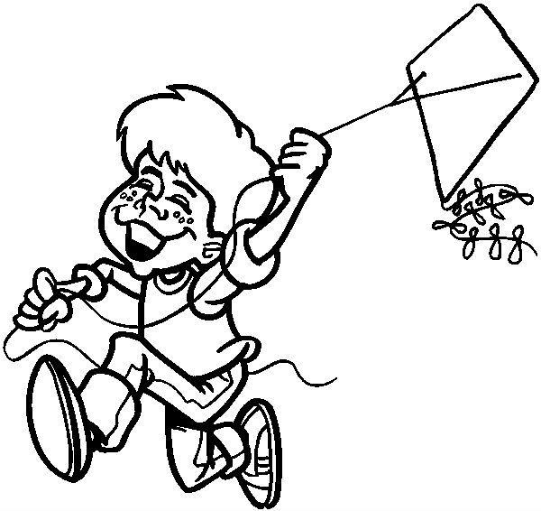 fly a kite coloring fly a kite coloring coloring pages fly kite a coloring