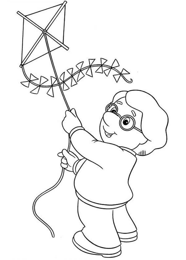 fly a kite coloring kite coloring pages free download on clipartmag coloring a fly kite
