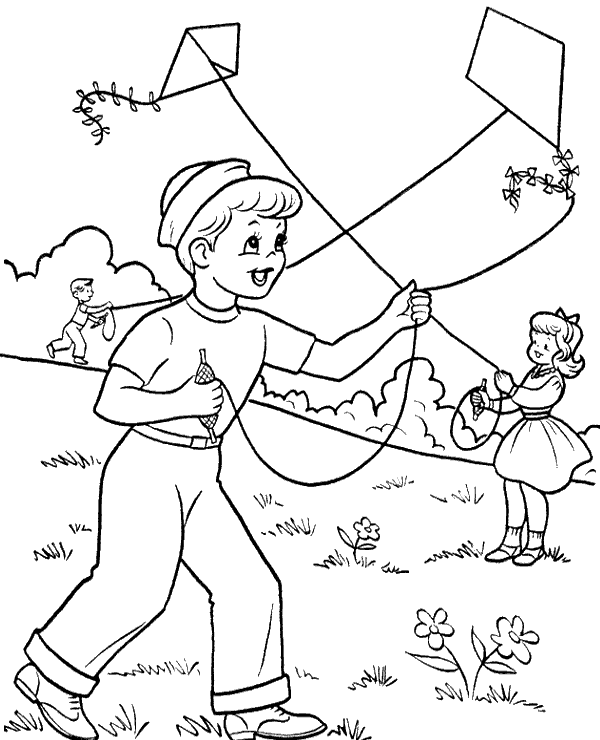 fly a kite coloring kite images for drawing at getdrawings free download a kite coloring fly