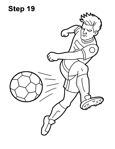 football player drawing steps how to draw a football player drawingforallnet player football steps drawing 1 1