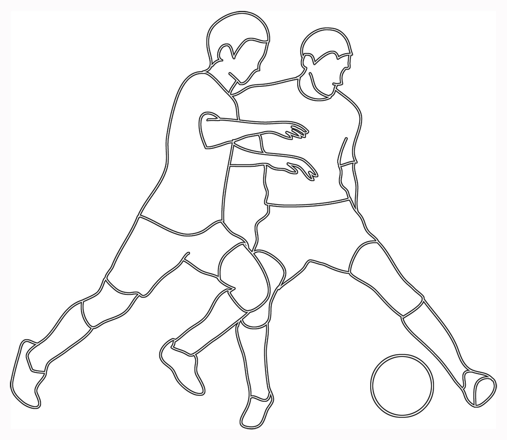 football player drawing steps how to draw cartoons football player player football drawing steps