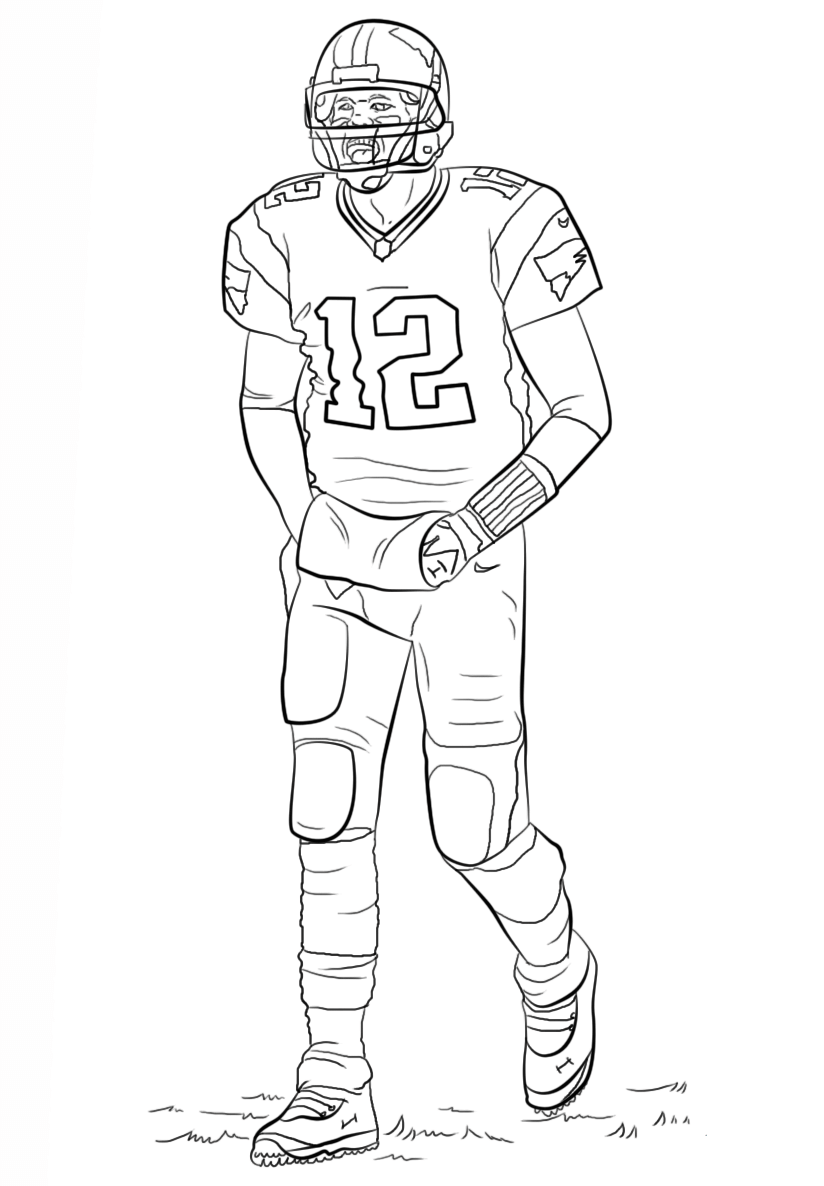 football players coloring pages pin by gage lane on art sports coloring pages football football coloring pages players