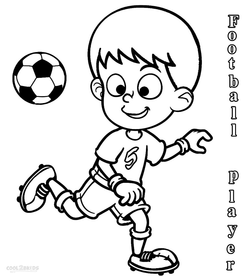 football players coloring pages printable football player coloring pages for kids cool2bkids pages football players coloring