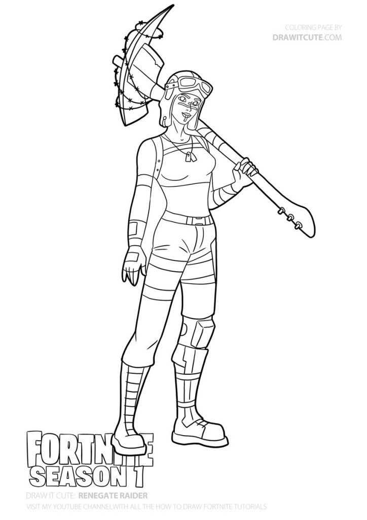 fortnite season 1 coloring pages how to draw recon expert step by step guide with 1 season coloring pages fortnite