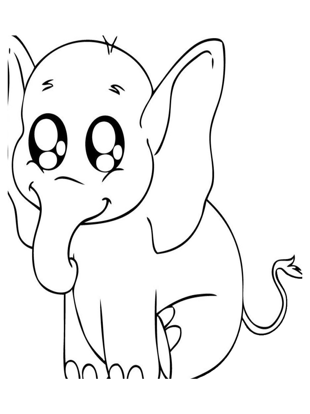 free baby animal coloring pages get this cute baby animal coloring pages to print 6fg7s coloring baby pages free animal