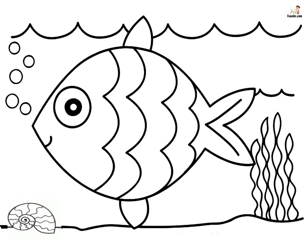 free coloring pages fish angler fish coloring page at getdrawings free download coloring fish pages free
