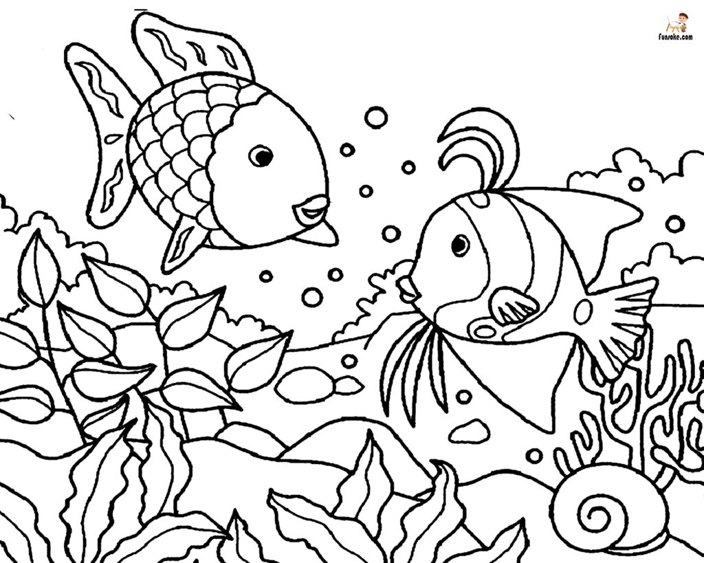 free coloring pages fish fish coloring pages fish coloring free pages