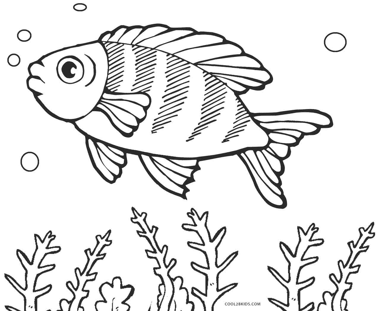 free coloring pages fish free fish coloring pages for kids free fish coloring pages