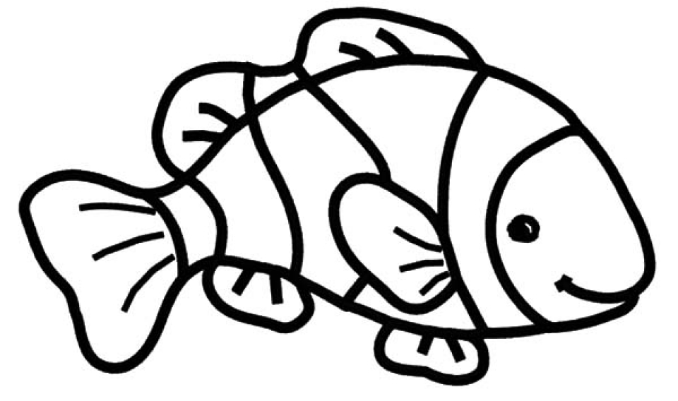 free coloring pages fish free printable goldfish coloring pages for kids fish free pages coloring