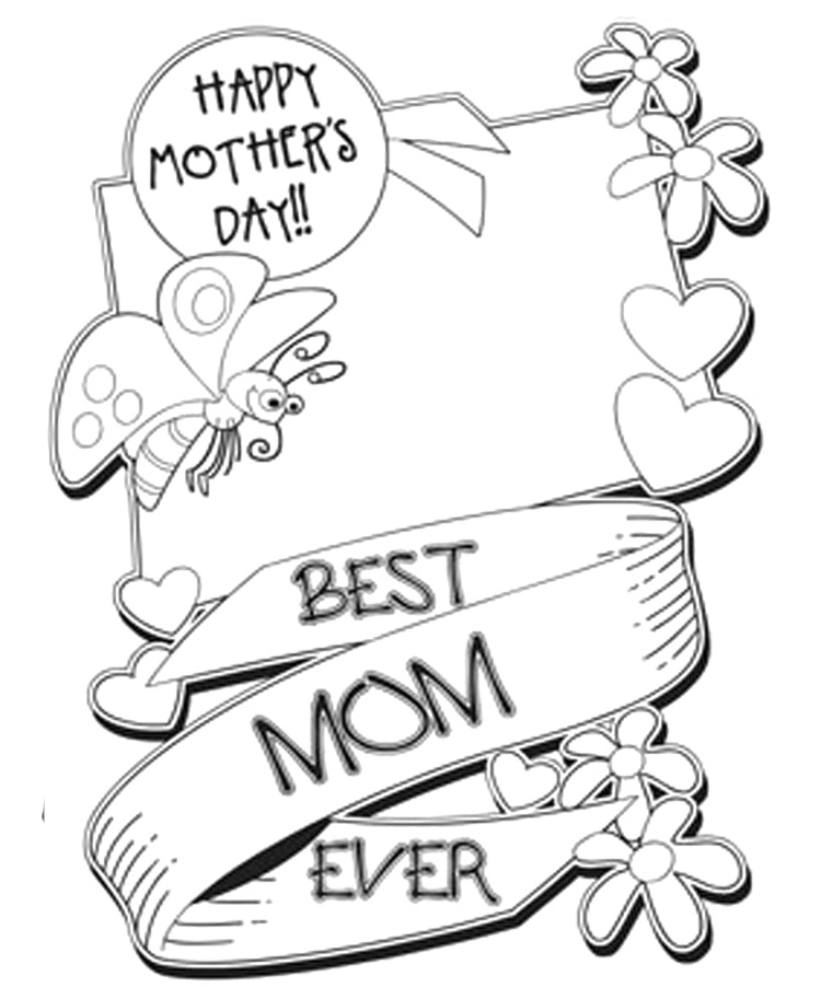 free coloring pages mothers day happy mother39s day flowers coloring page free printable mothers pages free coloring day
