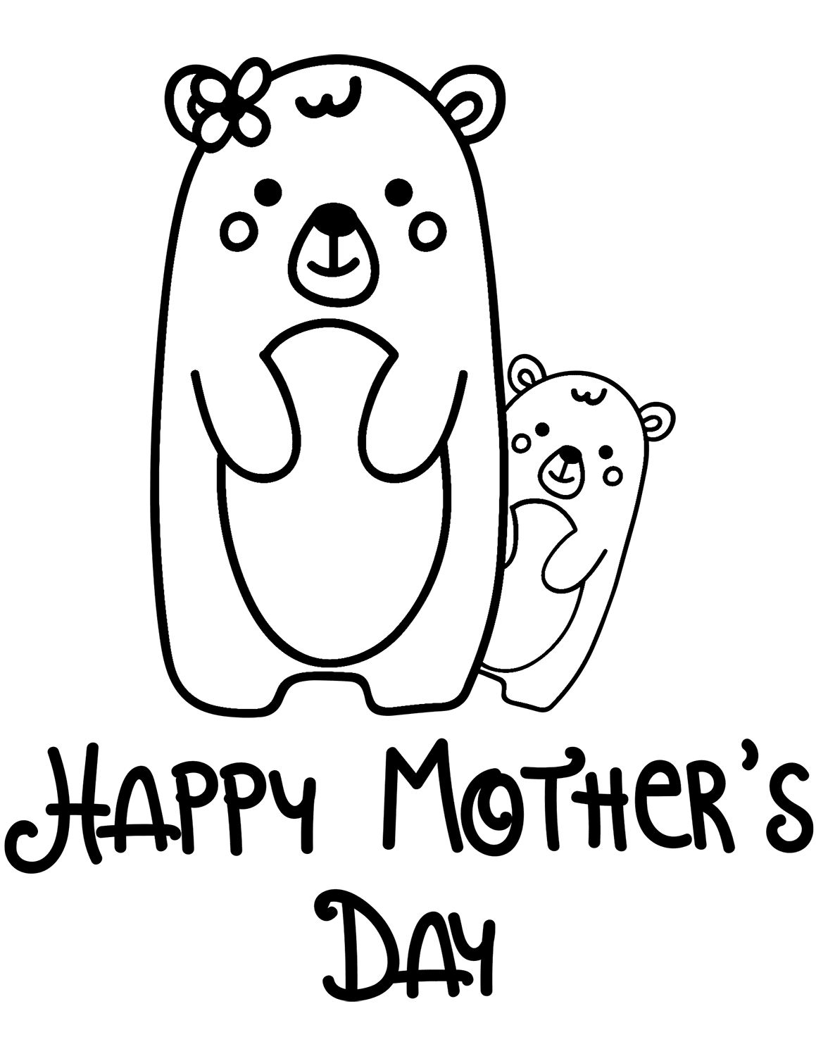 free coloring pages mothers day mother39s day coloring pages free printable mother39s day free pages day mothers coloring