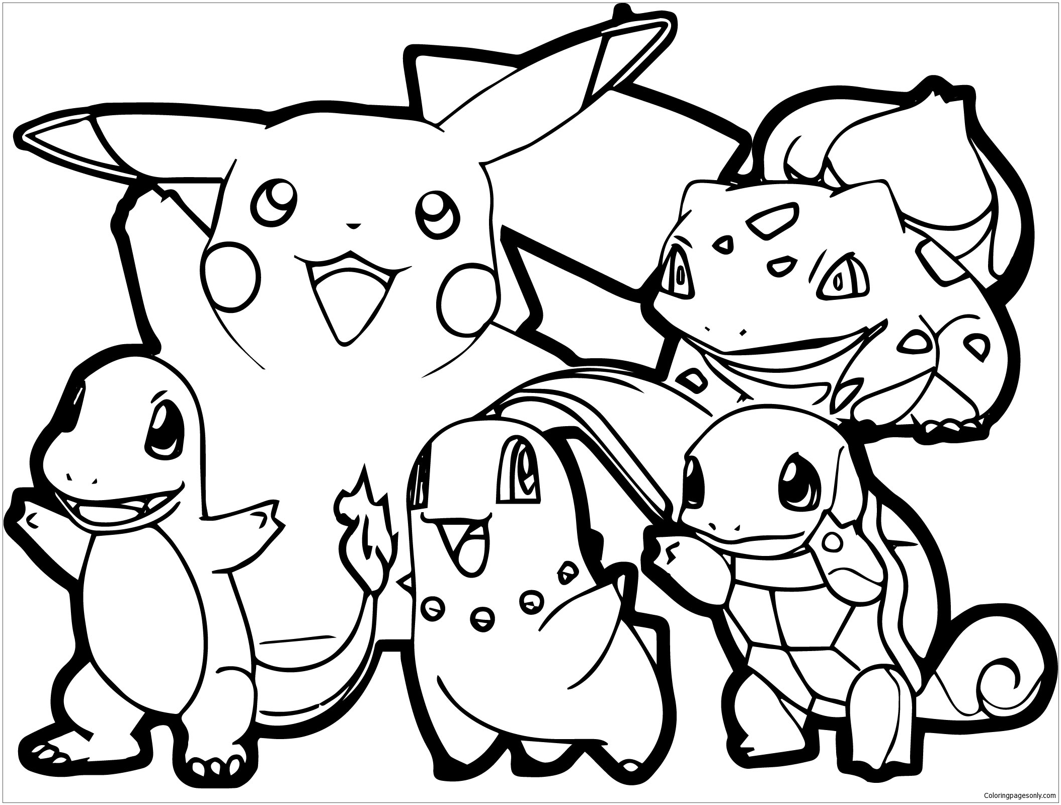 free coloring pokemon pages pokemon coloring pages join your favorite pokemon on an pages pokemon free coloring