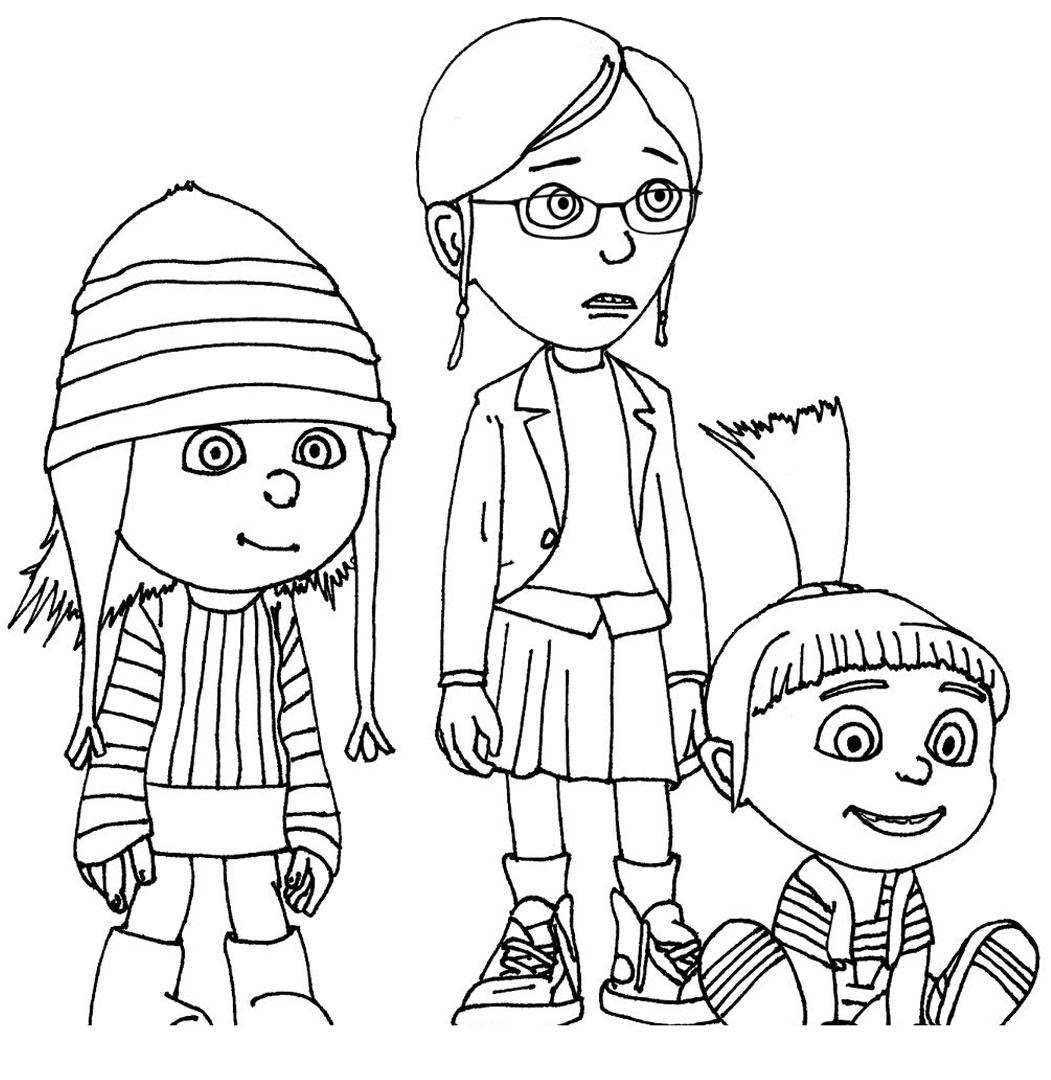 free despicable me coloring pages despicable me coloring pages to print squid army coloring pages free me despicable