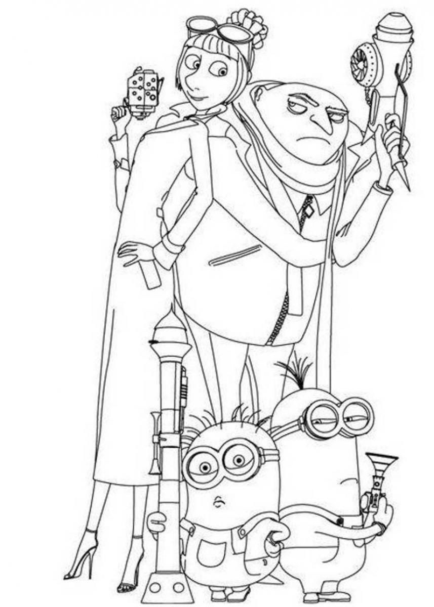 free despicable me coloring pages minion of despicable me coloring pages cartoons coloring coloring me pages free despicable