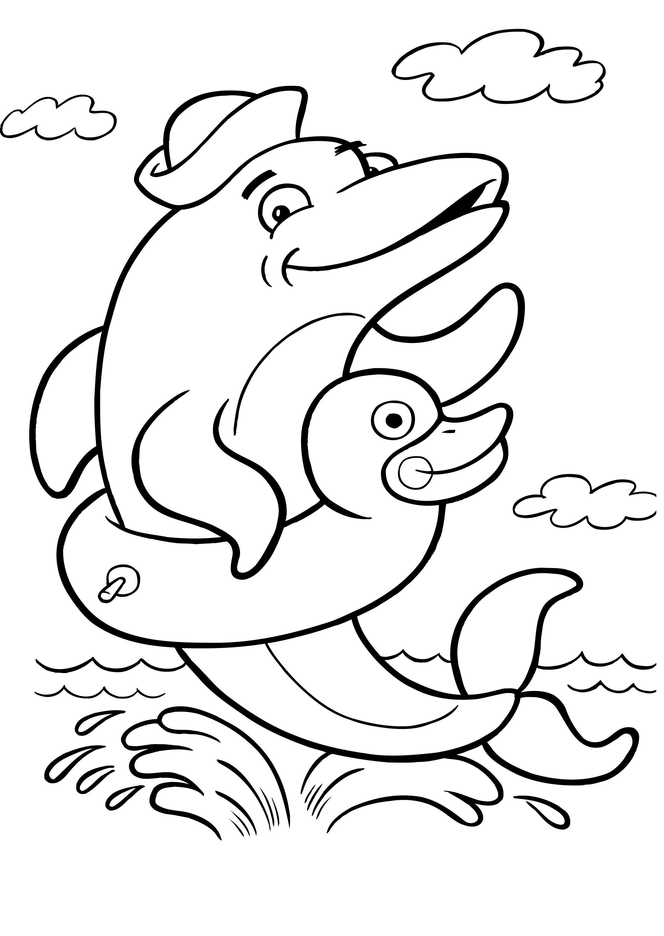 free dolphin coloring pages free printable dolphin coloring pages for kids coloring pages dolphin free