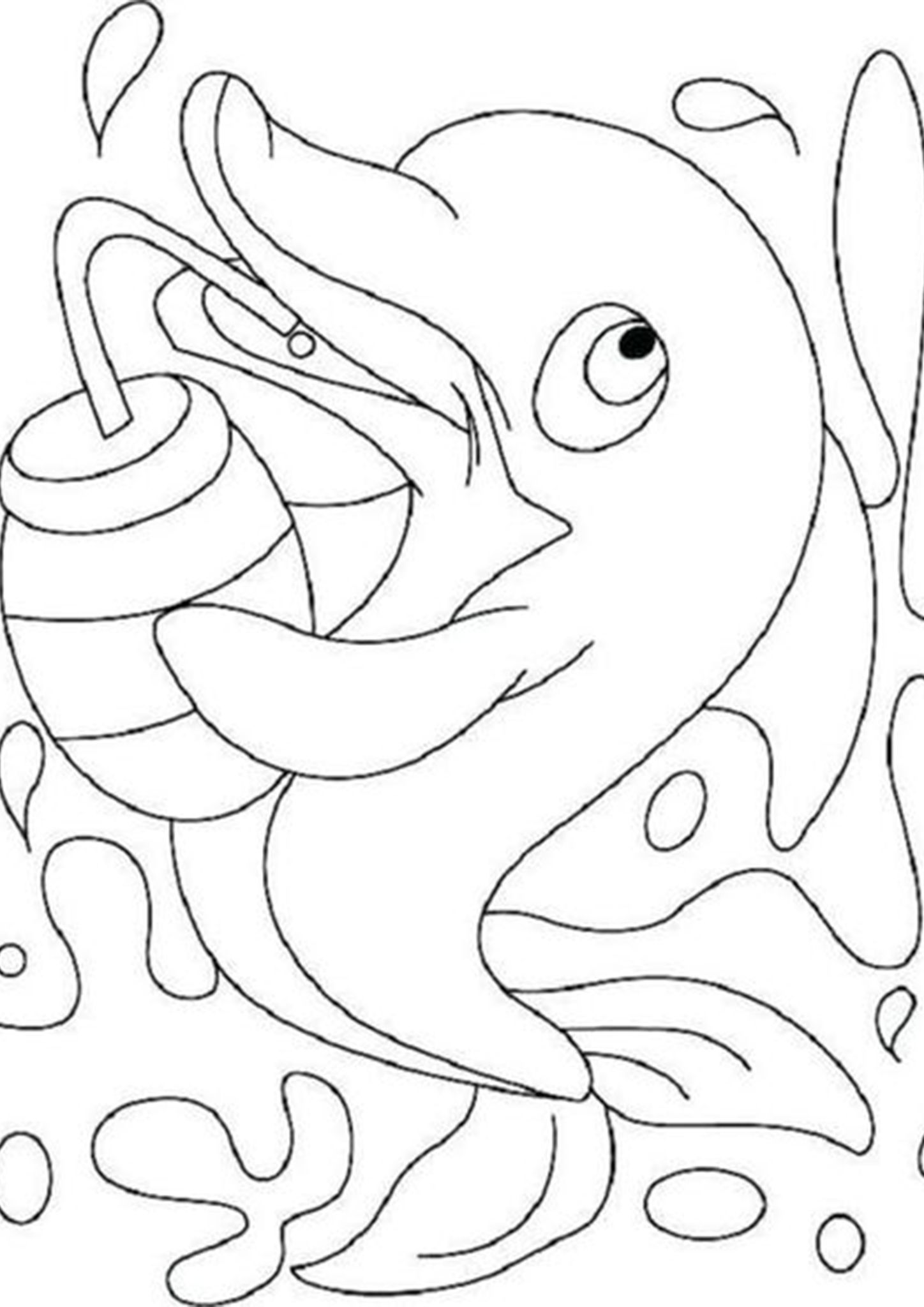 free dolphin coloring pages twin dolphin coloring pages for kids dolphin pages coloring free